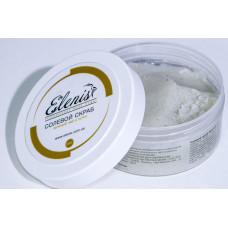 Скраб для тела 350гр солевой Зеленый чай и Лотос Elenis