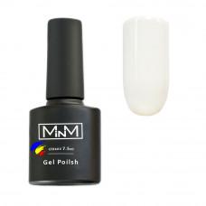 Гель-лак M-in-M Gel Polish 7.5ml №001 White Белый