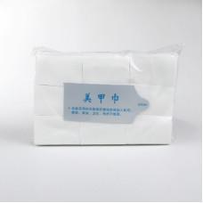 Салфетка безворсовая в полиэтиленовой упаковке 5*5 см YRE 1000шт (белая, розовая, желтая, голубая)