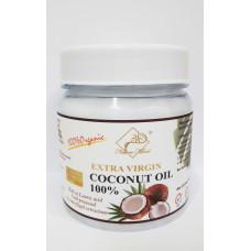 Масло кокосовое 500мл натуральное Extra Virgin Coconut Oil (холодный отжим путем центрифугирования)