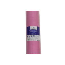 Простынь в рулоне  0,60м Х100м спанбонд (пл.20) Monaсo Розовая