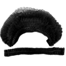 Шапочка одуванчик одноразовая черная, Black Collection (100шт/уп)