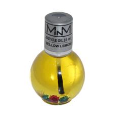 Масло для кутикулы 75мл с пипеткой Лимон M-in-M