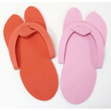 Тапочки - вьетнамки одноразовые S-M 12 пар в упаковке