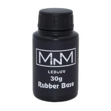 База 30мл Rubber Base Coat, LED/UV каучуковая для гель-лаков M-in-M