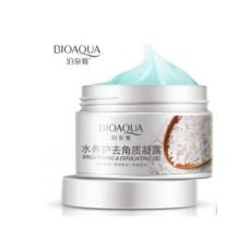 Скраб-гель для лица 140гр отшелушивающий с экстрактом риса (скатка) Bioaqua