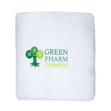 Чехол на кушетку (махра 2х сторонняя) белоснежный- logo GreenPharm