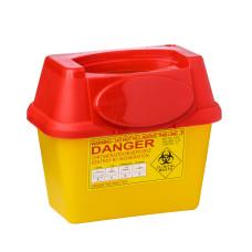 Контейнер 3 литра для сбора медицинских отходов