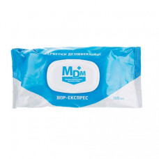 Нор-Експрес 100шт салфетки для дезинфекции универсальные MDM