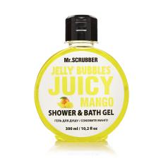 Гель для душа 300мл Jelly Bubbles Juicy Mango Mr Scrubber