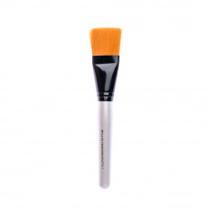 Кисть косметологическая  пластиковая белая Широкая Salon Professional N17