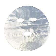 Маска полиэтиленовая - лицо с прорезями для глаз, носа и губ одноразовая 100 шт в уп