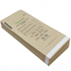 Крафт-пакет ПБСП-СтериМаг коричневый 75х150 мм самозапечатывающийся (100 шт/уп)
