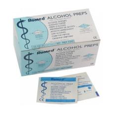 Салфетки спиртовые Romed (№100)
