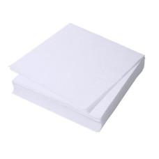 Салфетки гладкие 20х20 (20шт) пресованные белые спанлейс Н20