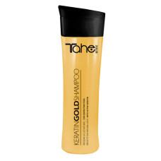 Шампунь для волос 300мл Keratin Gold с аргановым маслом Tahe