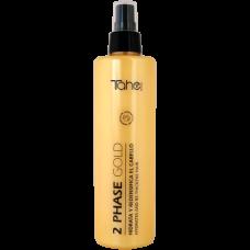 Спрей для волос 300мл двухфазный Botanic gold Bio Fluid Tahe