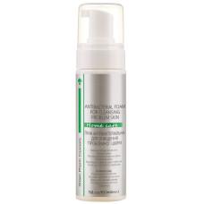 Пенка для лица 150мл антибактериальная для очистки проблемной кожи Green Pharm