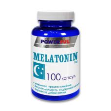 Добавка диетическая Мелатонин в капсулах 1мг №100 POWERFUL
