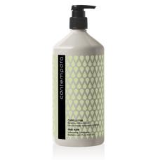 Кондиционер для волос 1л для объема с маслом облепихи и огуречным маслом Contempora Barex