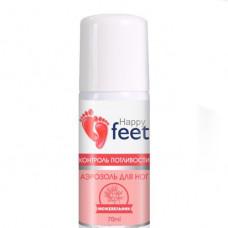 Аэрозоль для ног 70мл Контроль потливости с можжевельником Happy Feet