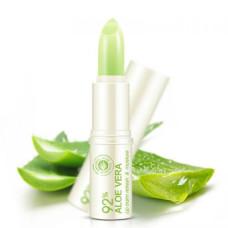 Бальзам для губ 4гр Алое Вера Refresh Moisture Aloe Moisturizing Repair Lip Balm Bioaqua
