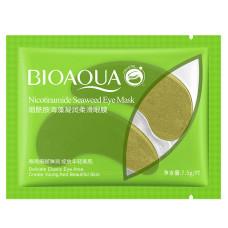 Патчи для глаз 2 шт гидрогелевые c никотинамидами и водорослями Nicotinamide Seaweed Eye Bioaqua
