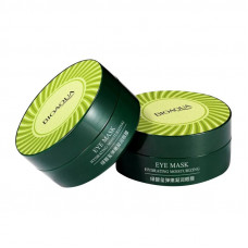 Патчи для глаз 60 шт гидрогелевые с зеленым турмалином Hydrating Moisturizing Eye Mask Bioaqua