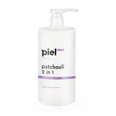 Шампунь-гель для душа мужской 1000мл 2 в 1 с пачули Patchouli Shampoo-Body Wash Piel