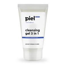 Гель для лица 150мл 3 in1 для умывания нормальной и комбинированной кожи Cleansing Gel  Piel