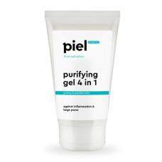 Гель для лица 150мл 4 in1 очищающий для умывания проблемной кожи Purifying Gel Cleaner Piel