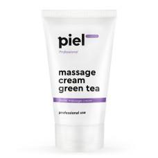 Крем для лица масажный 150мл зеленый чай Massage Cream Green Tea Piel