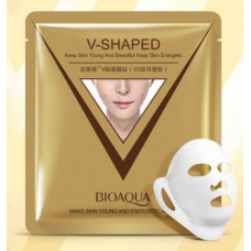 Маска для лица тканевая лифтинг, увлажнение V-Shaped Bioaqua