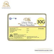 Игла G30х13mm инъекционная стерильная ультра тонкая DK Dermakor (50шт в уп)