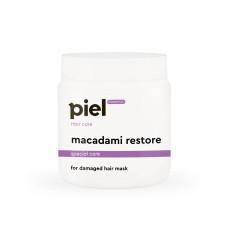 Маска для волос 500мл восстанавливающая для поврежденных волос Macadami Restore Mask Piel