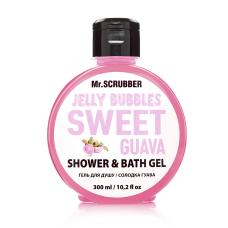 Гель для душа 300мл Jelly Bubbles Sweet Guava Mr Scrubber