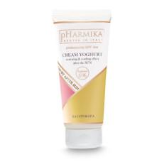 Крем для лица 200мл крем-Йогурт восстанавливающий после солнца с охлаждающим эффектом pHarmika